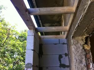 Дървена конструкция и сглобки при усвояване на тераса