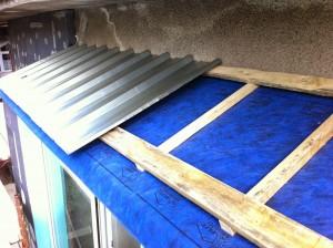 Хидроизолация на дървен покрив на тераса