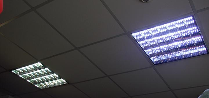 LED пури със светодиодна лента